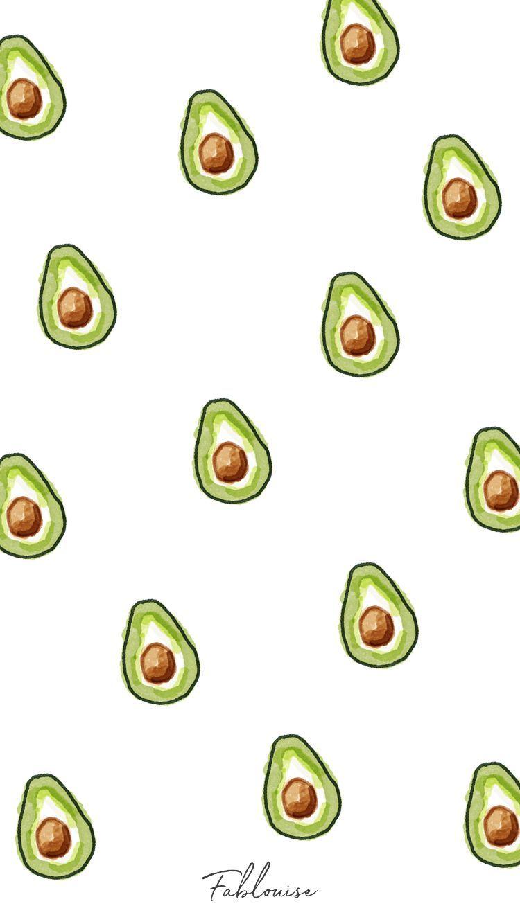 Wallpaper Avocado wallpaperpatterns Iphone hintegründe