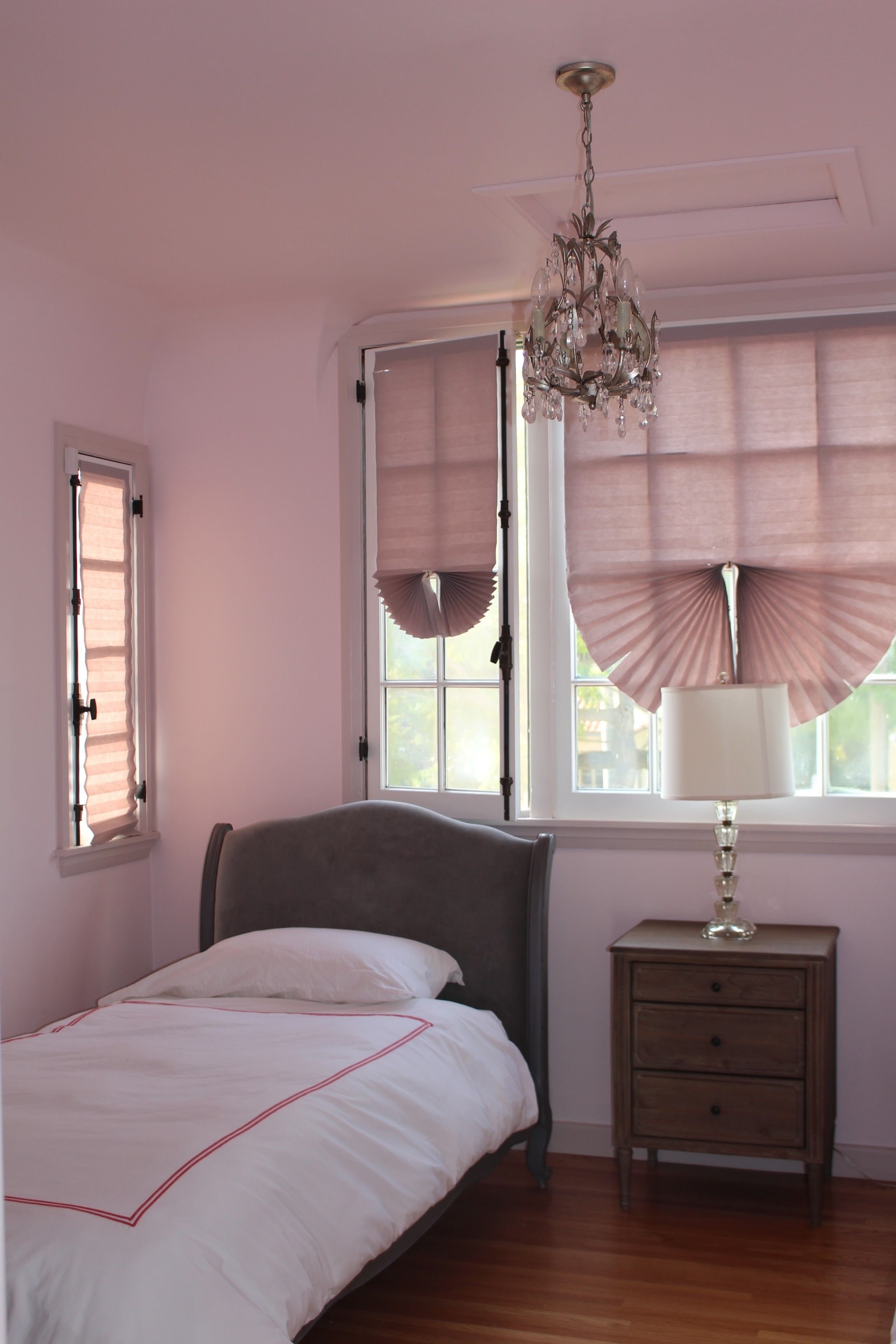 Girls Room Walls in Middleton Pink By Farrow  Ball Los Angeles  Paint Your Walls  Farrow