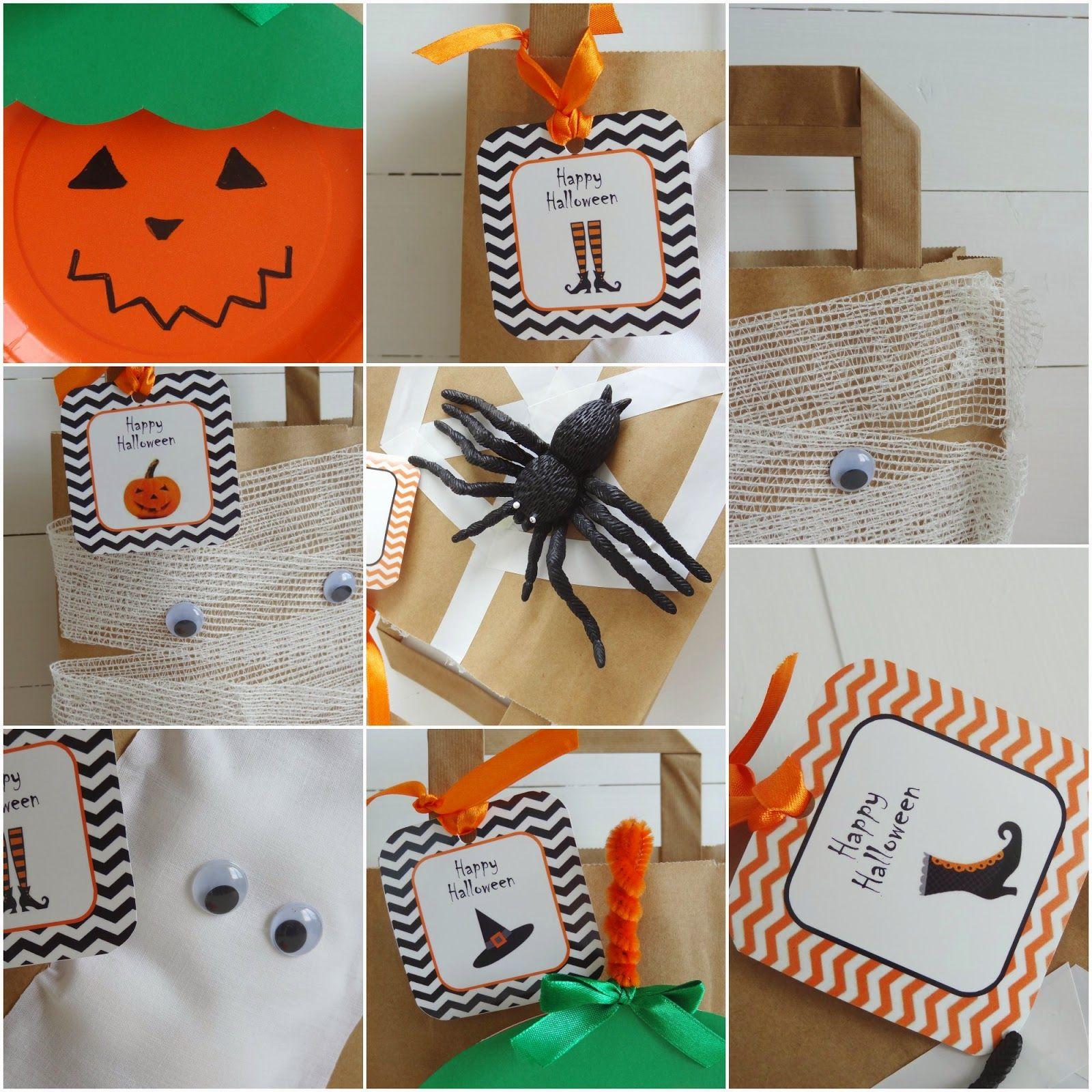 Celebra con Ana: ♥ Bolsas Kraft para Halloween y Freebie