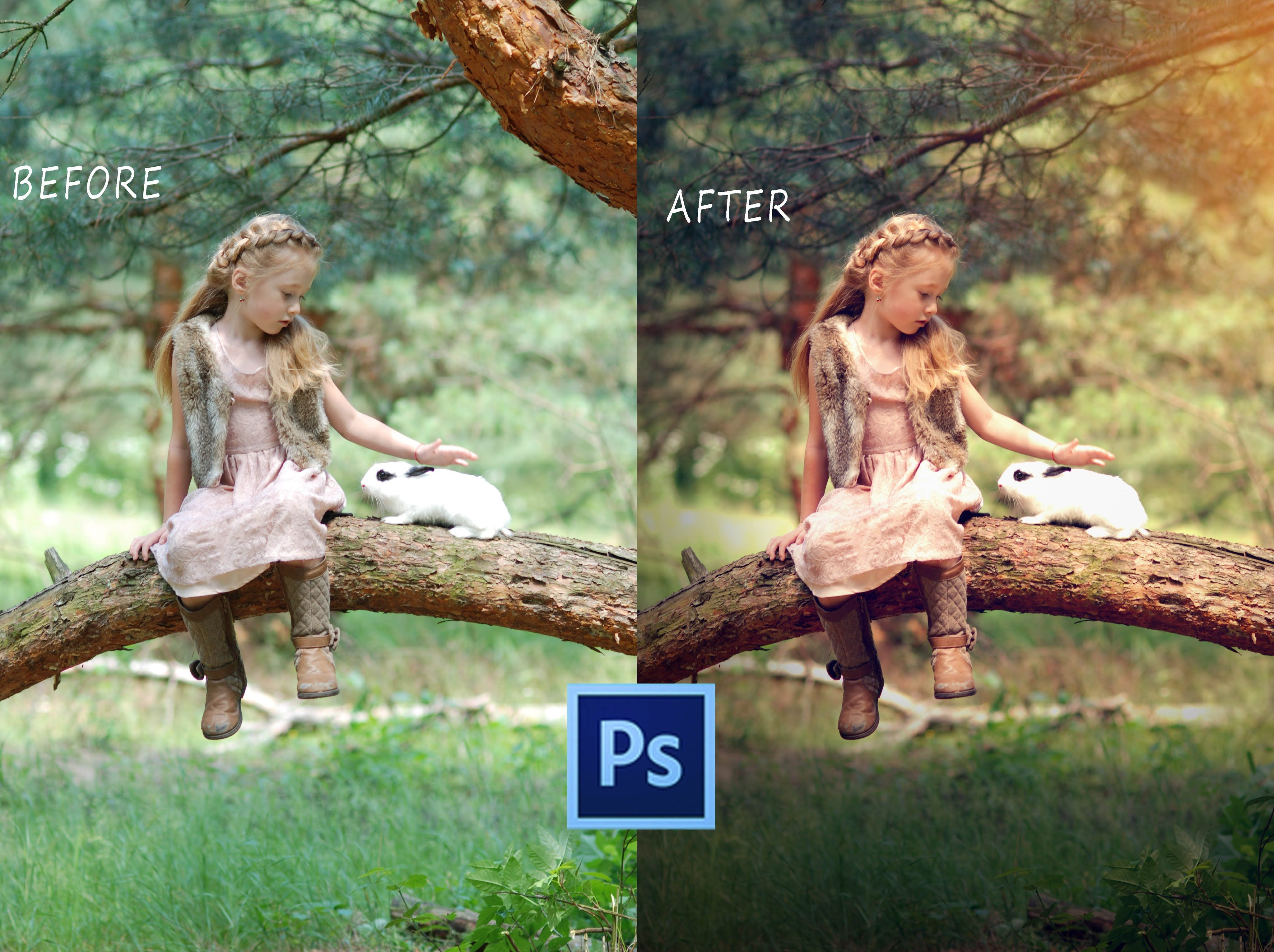 In This Tutorial I Am Going To Show You How To Edit Outdoor Portrait Photo Kids That How You Can Delet Photography Editing Photoshop Photos Portrait Photoshop