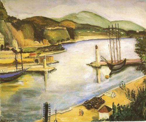 Porto De Monaco Anita Malfatti 1925 26 Com Imagens Anitta