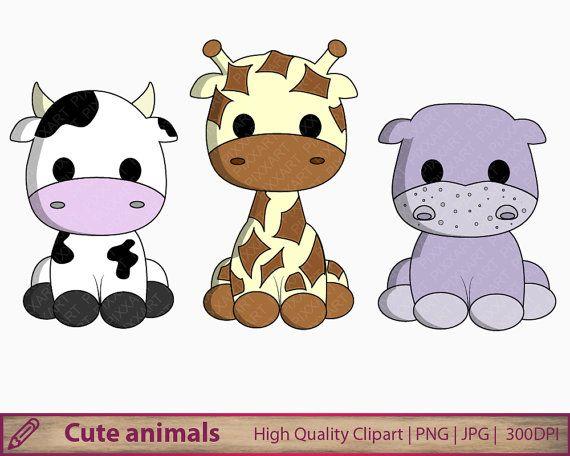 Cute Cow Png Cartoon Clipart Calf Sweet Farm Animal Baby Etsy Cute Baby Cow Baby Cows Cute Cows