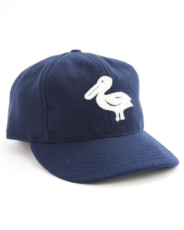 582983012fa44 Ebbets Field Flannels   New Orleans Pelicans Ballcaps