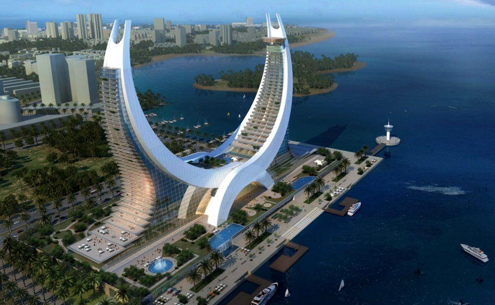 Lusail marina hotel katara towers qatar grandes de la for Architectural design company in qatar