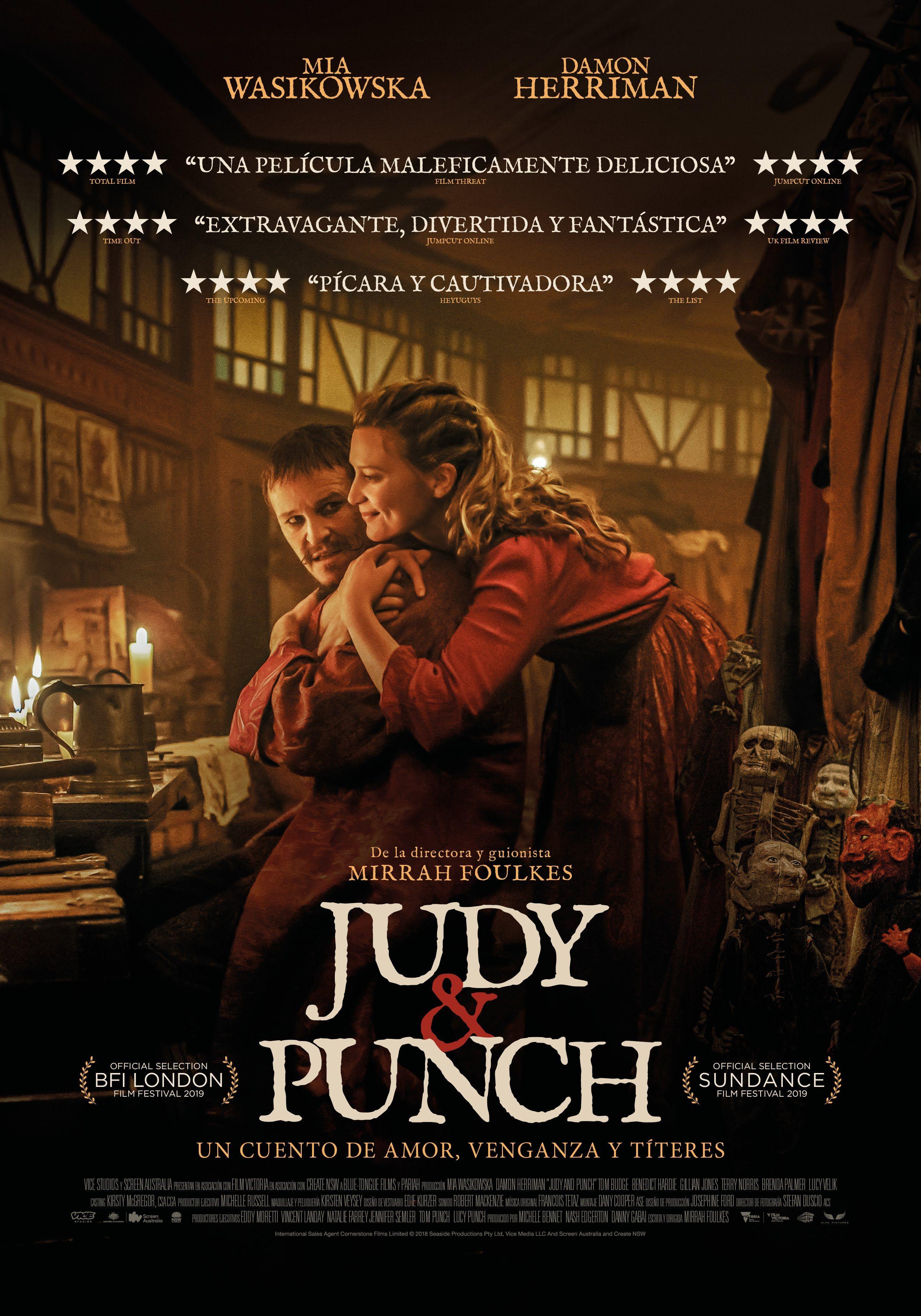 Judy Punch Peliculas En Cartelera Un Cuento De Amor Peliculas Completas