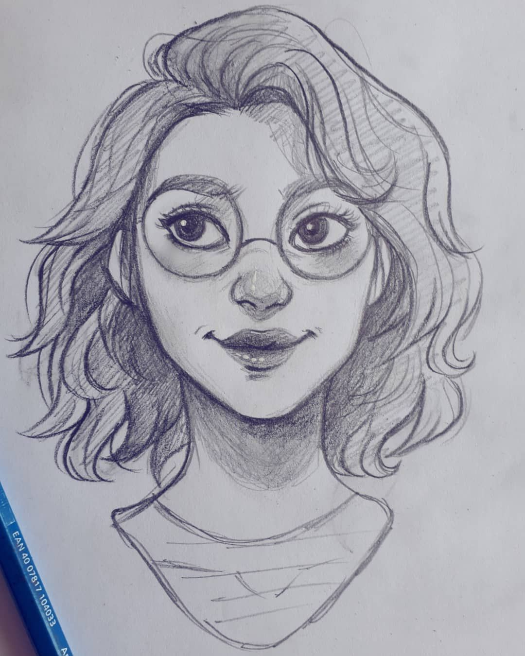 Easy Drawings | Art sketches, Drawing people, Cute