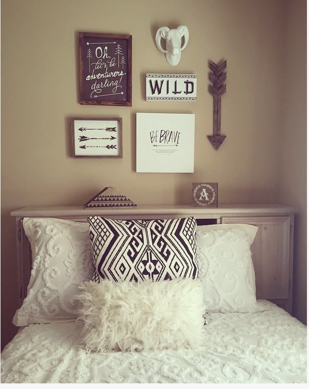 Tribal Themed Room All Decor From Hobby Lobby Tribal Decor Bedroom Tribal Room Room Themes