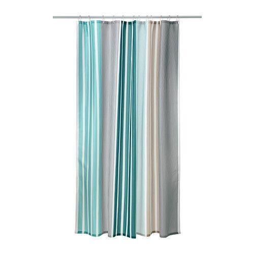 BOLMÅN Shower curtain - IKEA Bathroom Pinterest Rideaux de