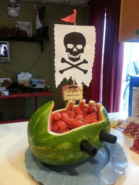 Scurvy cure for the crew!