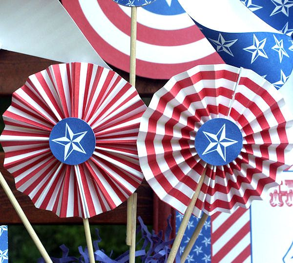 4th of july party decorations for a festive celebration home decor 4th of july decorations. Black Bedroom Furniture Sets. Home Design Ideas