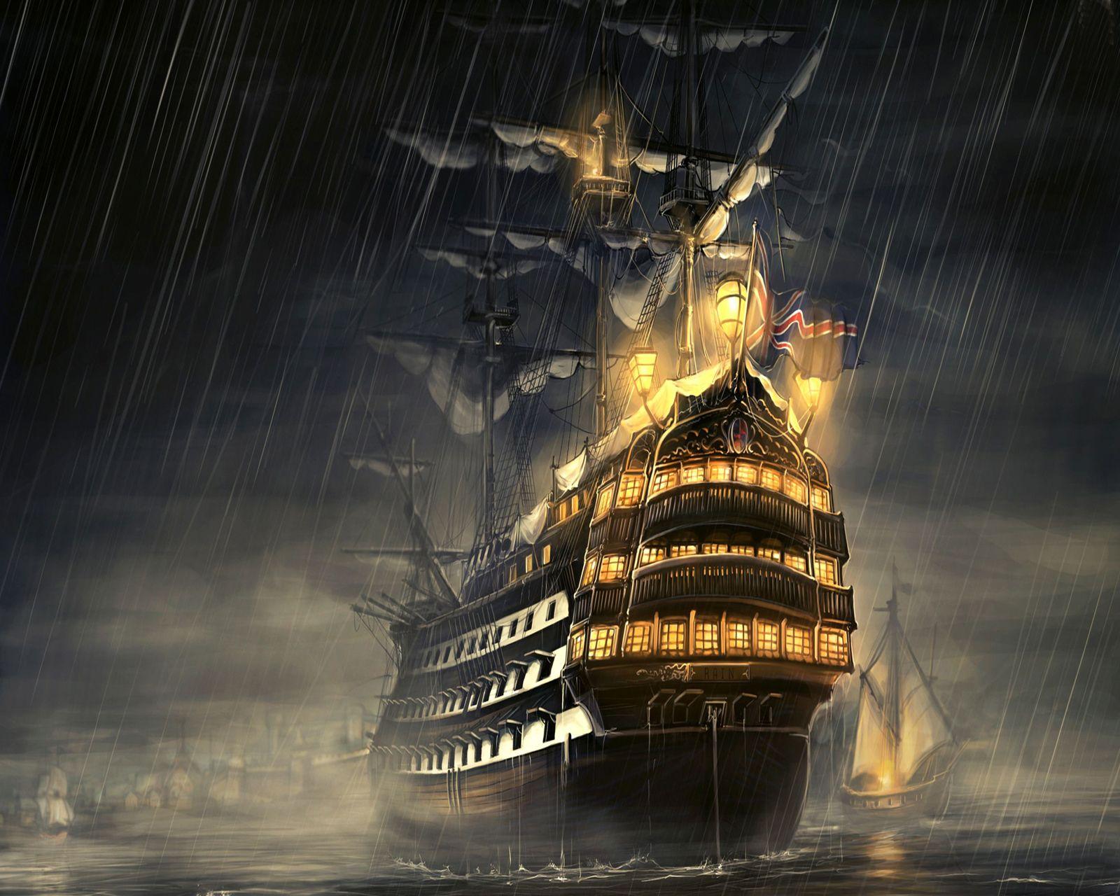 Ship HD Wallpapers Backgrounds Wallpaper × Pirate Ships