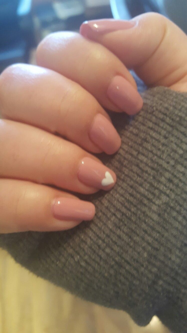 Cute Valentine Nails.. Done this weekend! | Nails | Pinterest ...