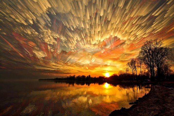 Never-Before-Seen Smeared Sky Photos by Matt Molloy - My Modern Metropolis