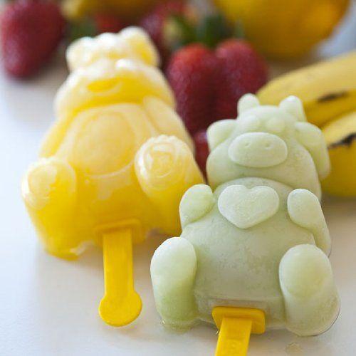 Animal Ice Pop Mold For Children by Martellato $66 00 Each Kit