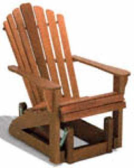 29 yf18 adirondack glider chair woodworking plan woodworking