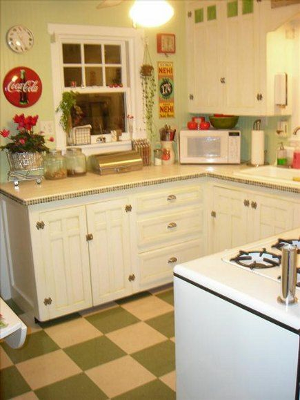house revivals: kitchens with vintage stoves | kitchen | pinterest