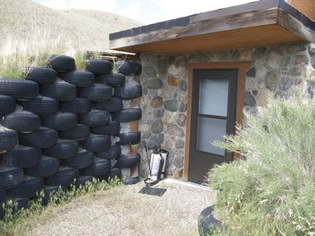 Tire House Earthship Diy Dream Home Sustainable Home