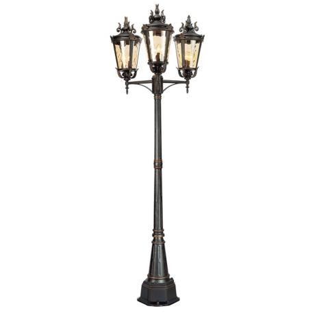 Casa Marseille 100 High Bronze Outdoor 3 Arm Post Light 95591 Lamps Plus Post Lights Outdoor Post Lights Outdoor Lamp Posts