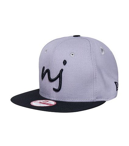 NEW ERA JIMMY JAZZ EXCLUSIVE New Jersey NJ strapback cap Adjustable strap  on back for ultimate comfort Embroidered logo on front NEW ERA stitching on  side ... ccf1d59fffad