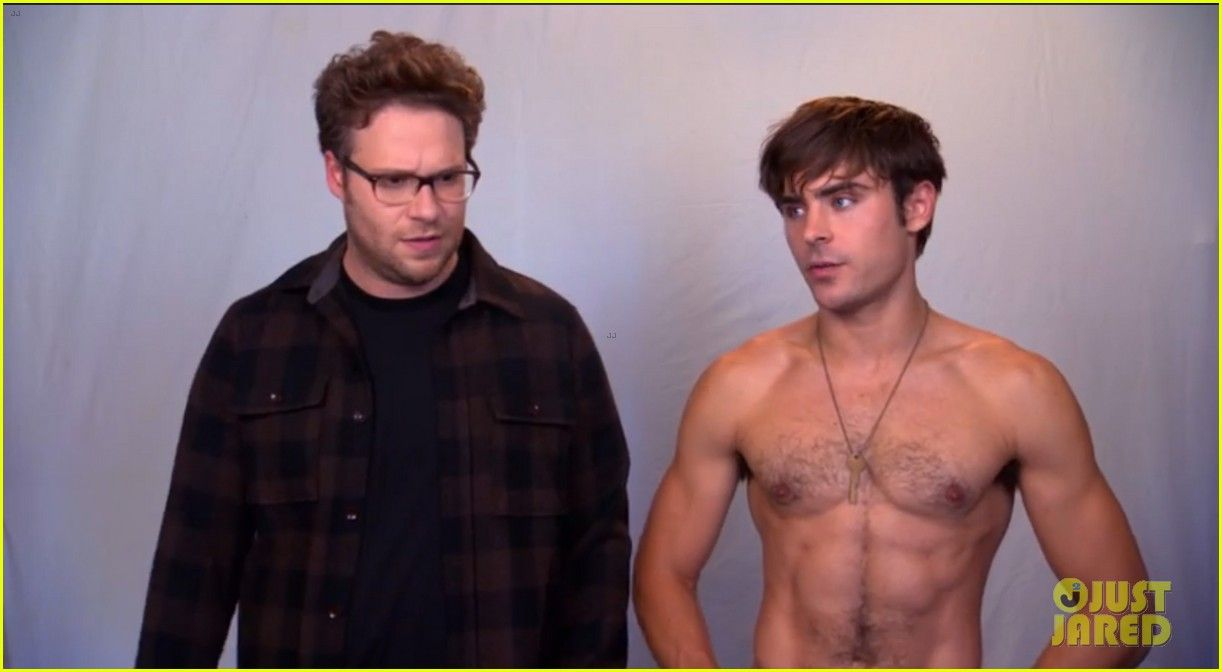 Zac Efron Goes Shirtless in 'Neighbors' TV Spot - Watch Now! | Seth Rogen, Shirtless, Zac Efron Photos | Just Jared
