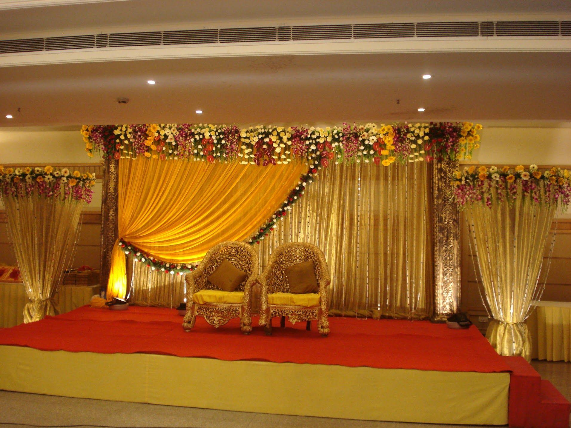 DSC01955.JPG   Reception stage decor, Wedding stage design ...