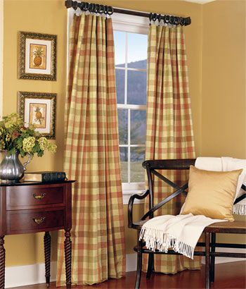 17 Best images about Curtains on Pinterest | The buffalo, Plaid ...