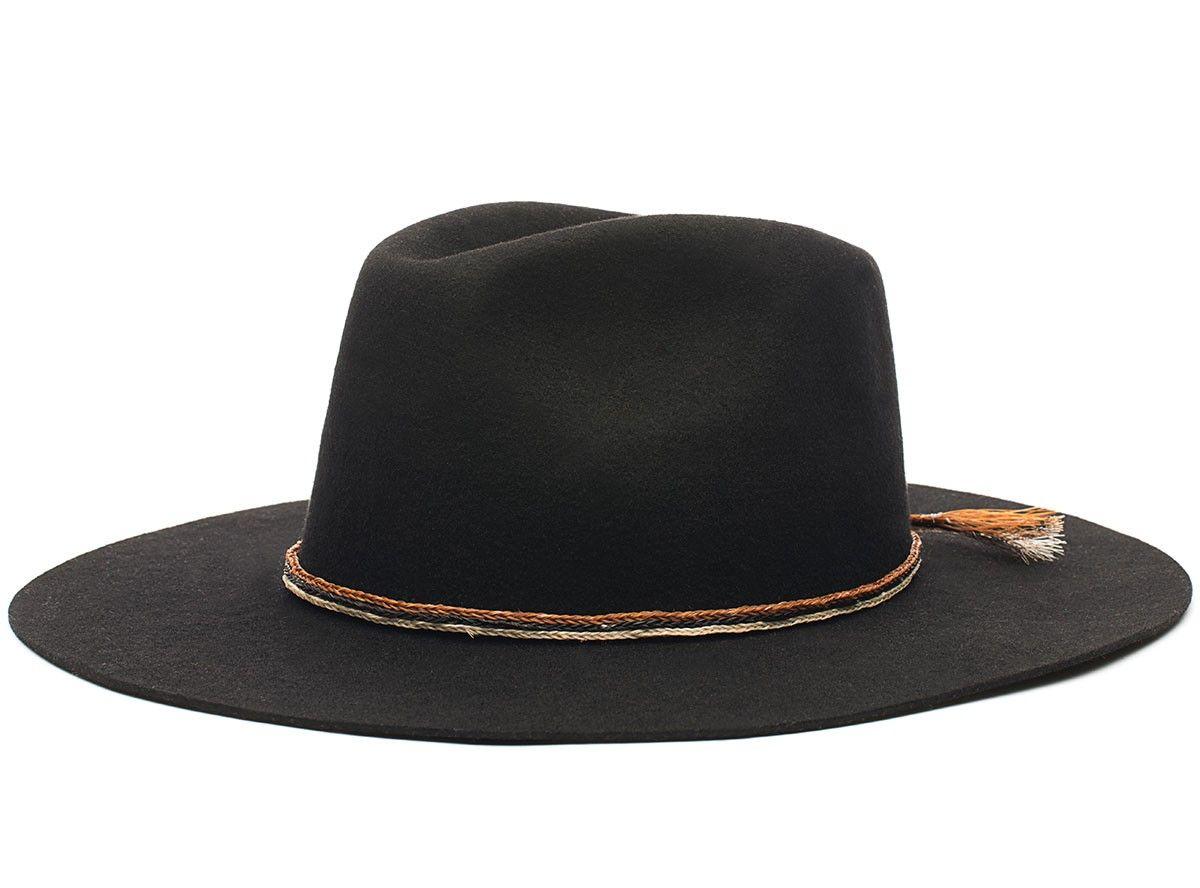 f3aa8654b Brixton Leonard Hat Black | clothes and shit | Hats for men, Hats ...