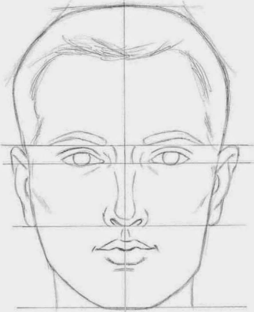 идеально в картинках как нарисовать лицо человека поэтапно карандашом романтичные трогательные изделия