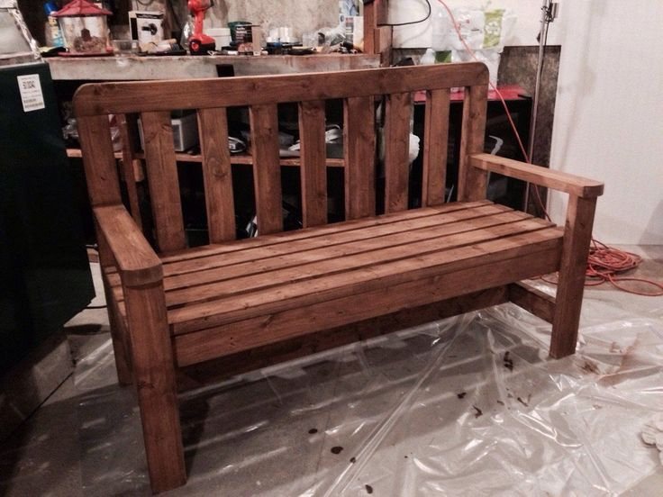 farm table bench with back for our dining room table projects