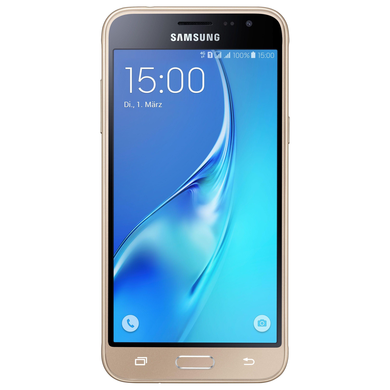 "notebooksbilliger ""Samsung Galaxy J3 2016 Duos gold EU [12 63cm"