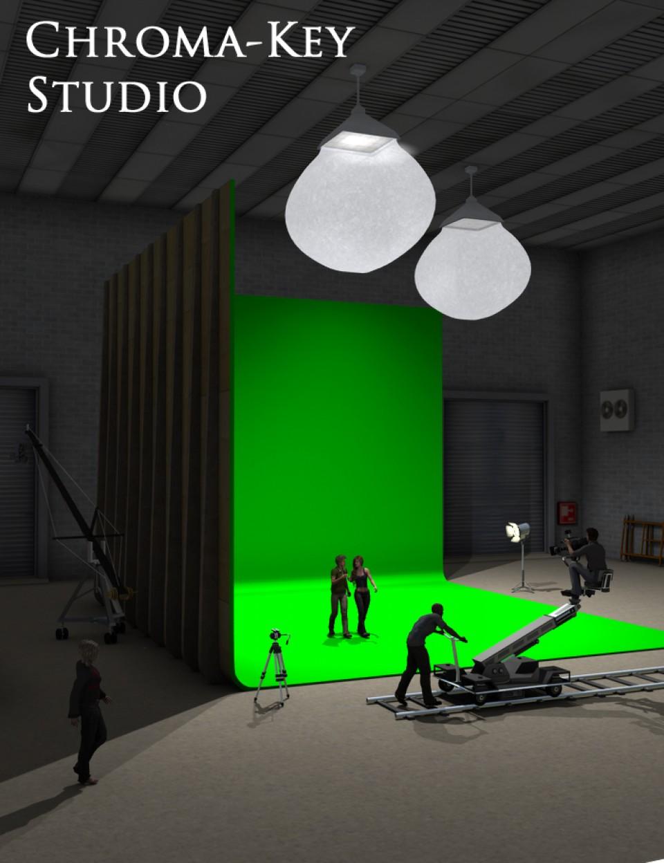 Chroma Key Green Screen Studio In 2020 Chroma Key Greenscreen Greenscreen Ideas