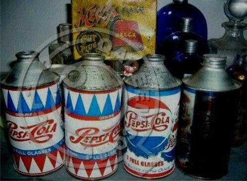 اول علبة بيبسي في التاريخ البشريه ترجع لعام 1930 يعني قبل 81 سنه زيت فرامل مو بيبسي Coors Light Beer Can Beer Can Beverage Can