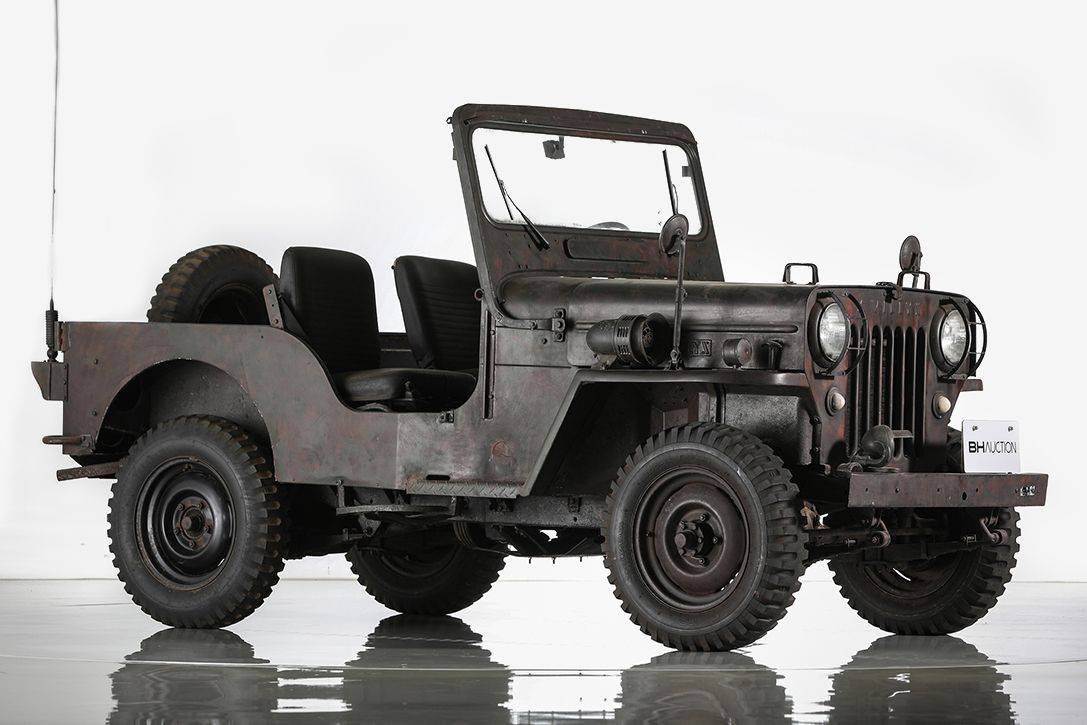 You Could Own This Ultra Rare Post War 1959 Mitsubishi Willys Jeep