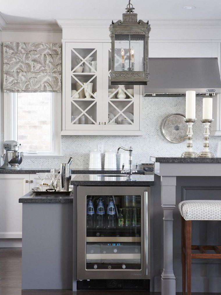 Encimeras de cocina granito, mármol, madera para elegir | Granito ...