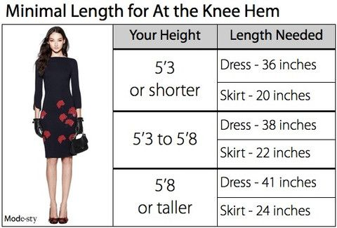37++ Dress length guide for height ideas in 2021