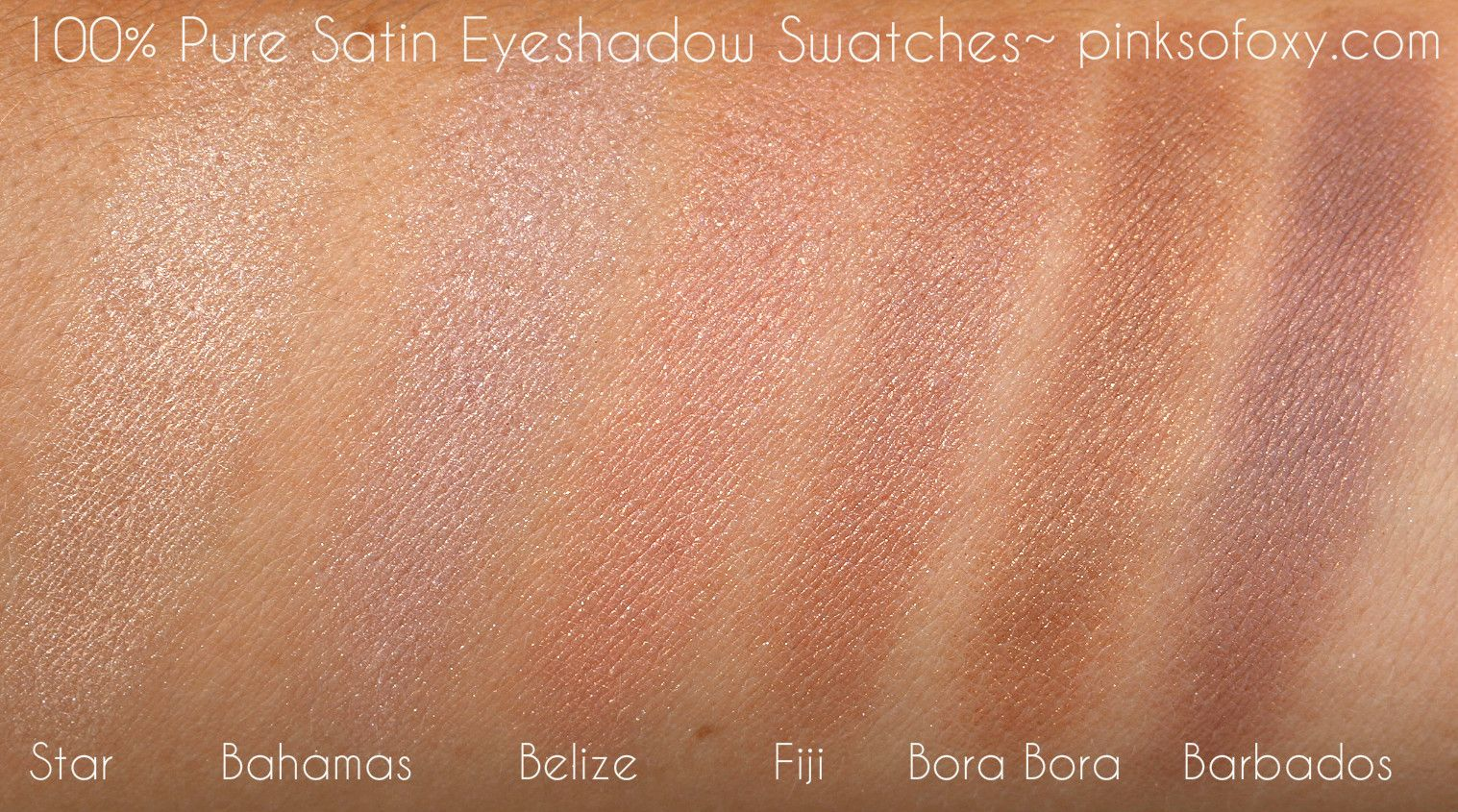 100 Pure Bahamas Eyeshadow Pure products, Eyeshadow