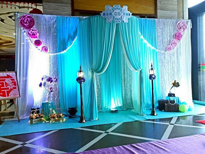 3m5mdiameter 18m Semicircular booths wedding birthday party Sign