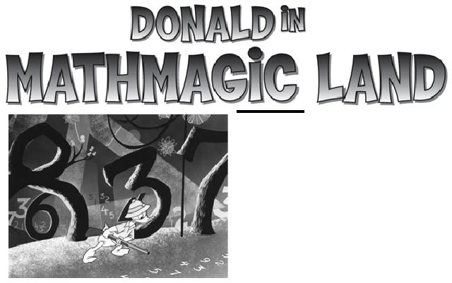 Donald In Mathmagic Land Teacher S Guide Homeschool Math Donald Summer School
