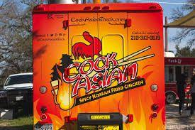 Cock  Asian Korean Chicken - San Antonio's infamous food truck.