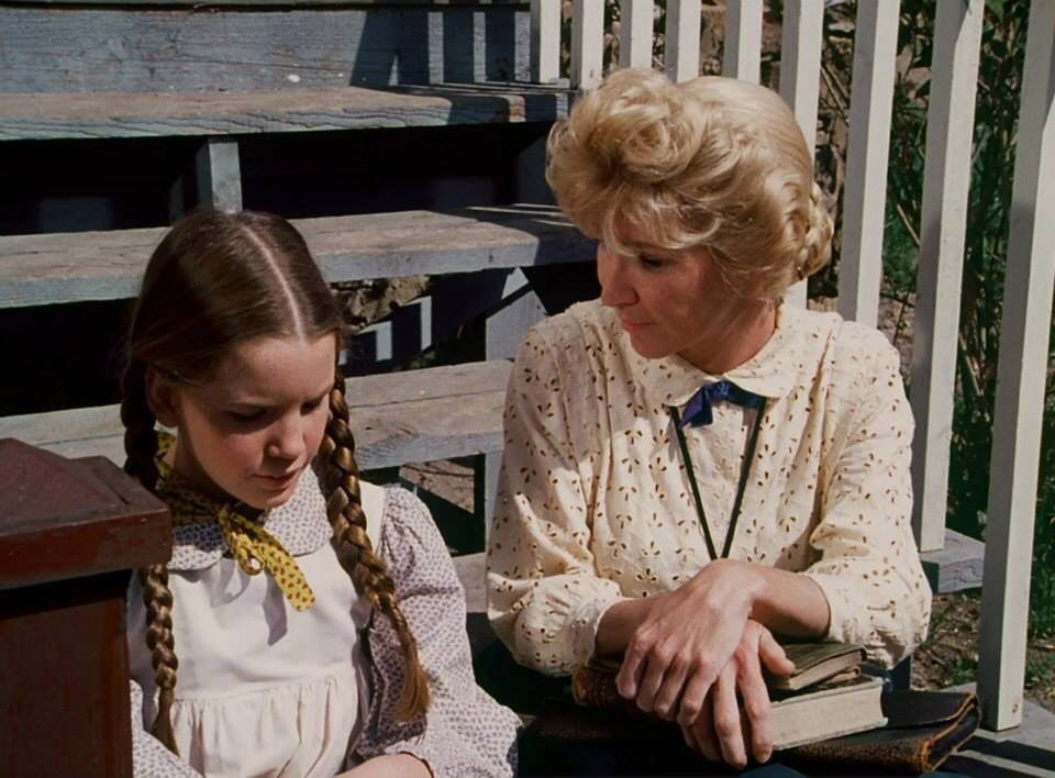 Little House On The Prairie Laura And Miss Beadle The Great