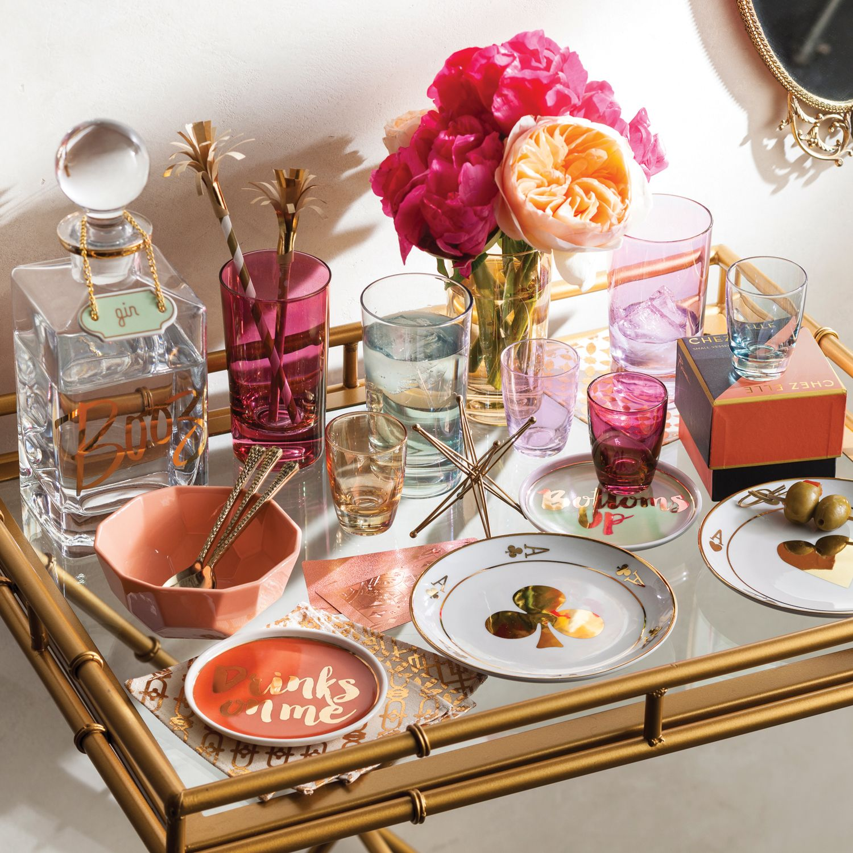 Rosanna Chez Elle Lustre Shot Glass Set of 4 LaylaGrayce