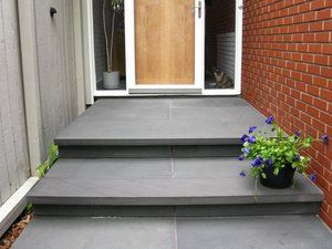 image result for contemporary concrete porch steps front porch