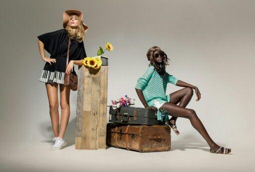 Elka Knitwear summer photoshoot www.elkaknitwear.co.nz
