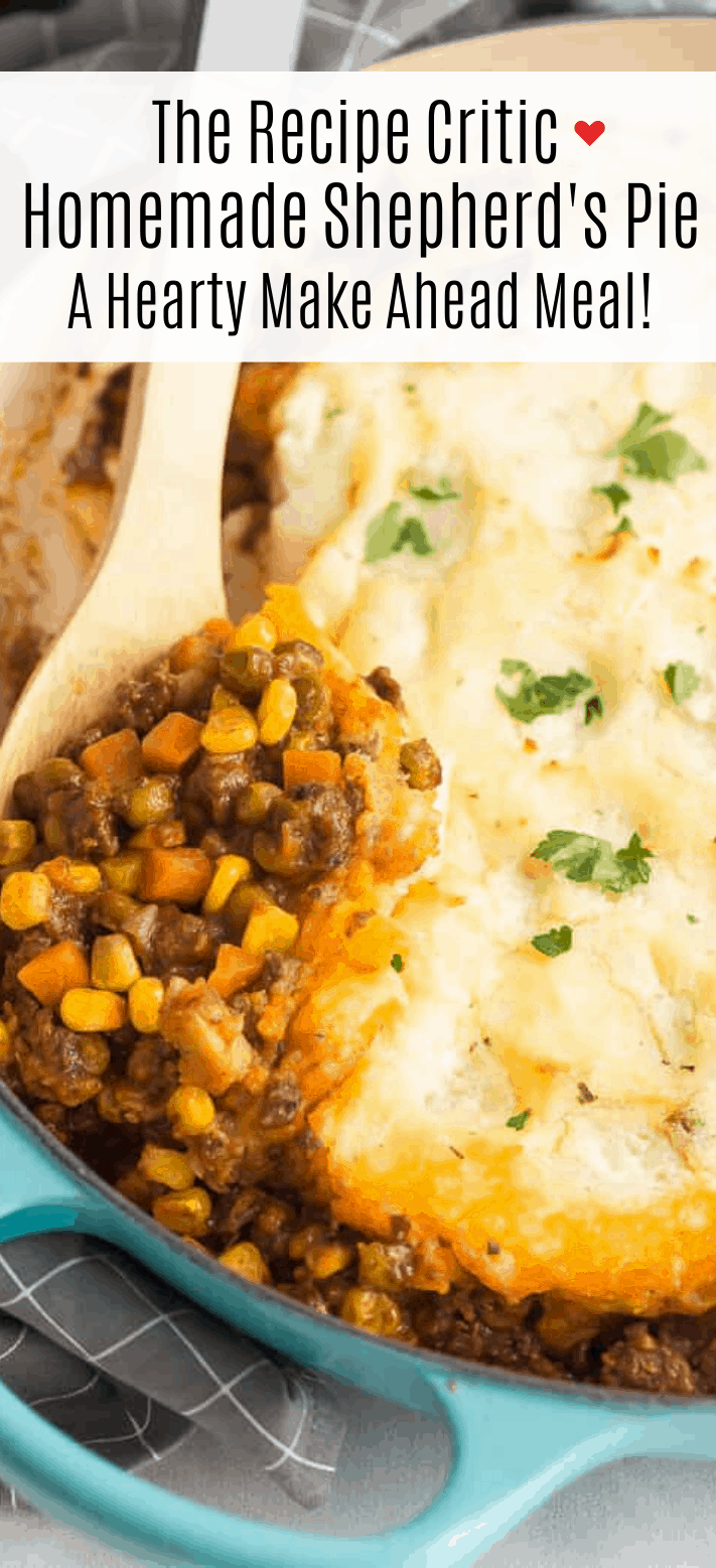This Easy Shepherd 039 S Pie Recipe Is Made With Saucy Ground Beef Base Vegetables And Creamy Ma In 2020 Recipes Comfort Food Recipes Dinners Dinner With Ground Beef