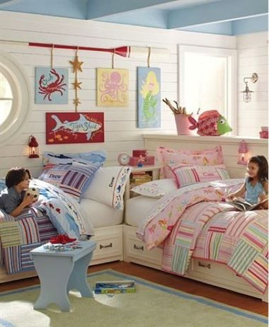 Elegant Boys and Girls Rooms