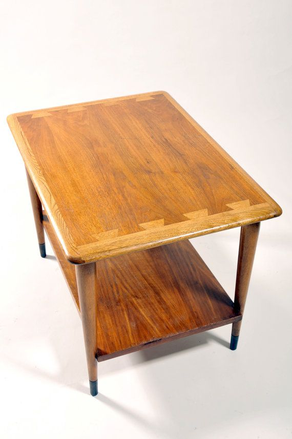 bb86a62604481 Mid Century Modern End Table Lane Acclaim Dovetail End Table