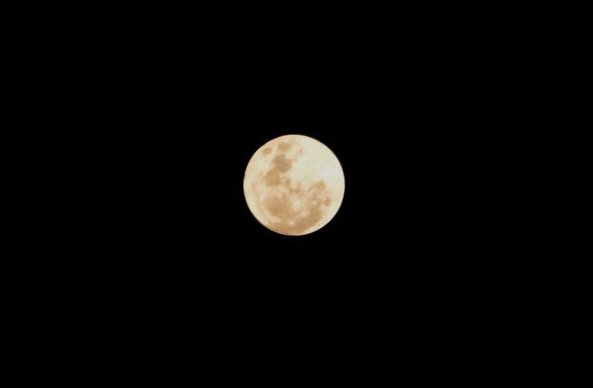 The moon in Bangkok.