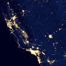Light Pollution Map Blue Marble Navigator Night Lights 2012 Night Light Light Pollution Light Pollution Map