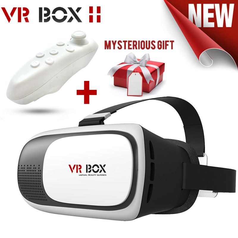 dcc6a736b23 Find More 3D Glasses  Virtual Reality Glasses Information about HOT Virtual  Reality VR BOX 2.0