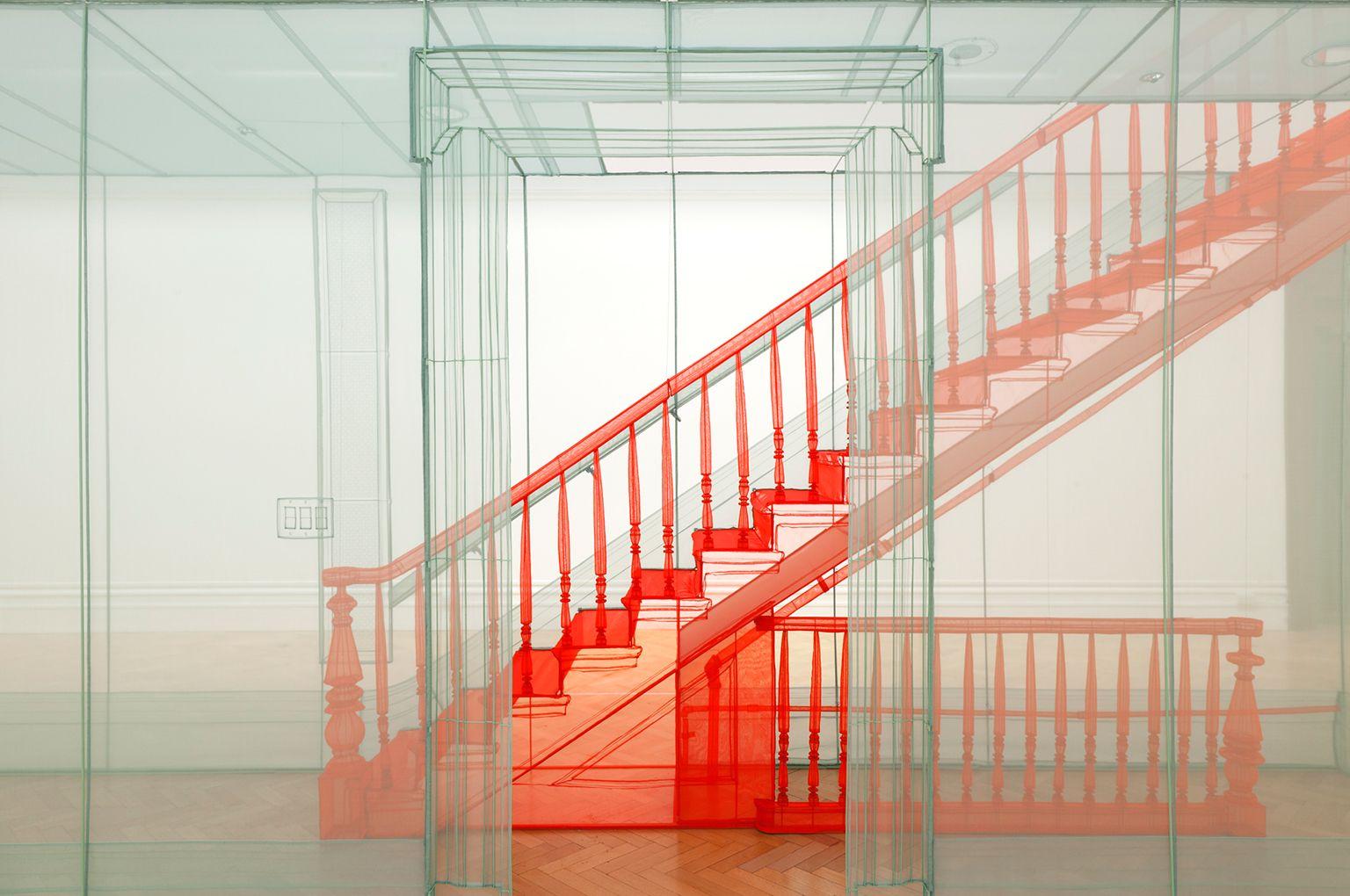 New York City Apartment Corridor/First Floor plus Ground